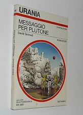urania  747 david grinnell MESSAGGIO PER PLUTONE   ( 1978 )