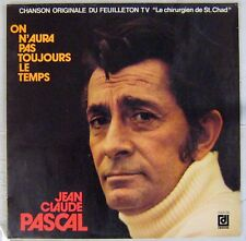 Jean-Claude Pascal 33 tours Chirurgien St Chad