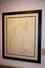 Muramasa Kudo Original Drawing - Nude- Custom Framed