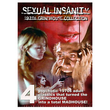 INSANITY 1970s GRINDHOUSE 4-FILM COLLECTION (2-DVD Set)