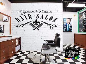 Hair Salon  Sign Wall Art Quote Sticker Hair Beauty Salon Hairdresser