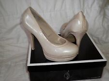 NWB Baby Phat Chance Womens Faux Leather Platforms Heels Shoes SIZE 8 all night!