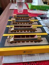 More details for 4 x graham farish jja autoballaster wagons. 'railtrack' (2 types)
