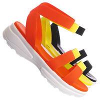 Catch05 Sporty Elastic Footbed Sandal - Women Utilitarian Platform EVA Platform