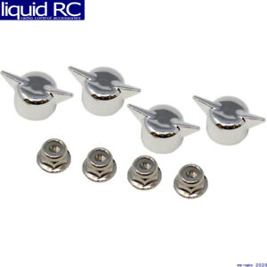 Redcat Racing 13439 Wheel Lock Nuts & Knockoffs (4 pieces ea)