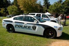 GREEN LIGHT POLICE AMTRAK DODGE CHARGER CUSTOM UNIT