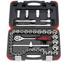 """Genuine Draper 1/2"""" Sq. Dr. Combination Socket Set MM/AF (41 Piece) P/N 16836"""