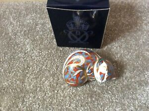 ROYAL CROWN DERBY CONTENTED KITTEN PAPERWEIGHT