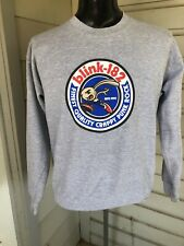 Vintage 1990's Blink 182 Pulliver Sweatshirt Crappy Punk Rock Size M