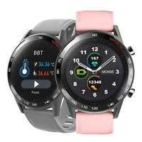 Smartwatch T23 Bluetooth Uhr Curved Display Android iOS Samsung iPhone Huawei IP