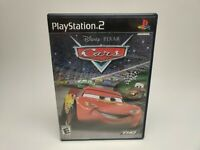 Disney Pixar Cars Sony PlayStation 2 PS2 Video Game Black Label UNTESTED AC