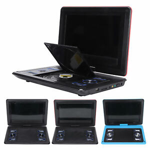 """10"""" HD Mobile DVD Player CD Player LED Screen PAL NTSC SECAM 10bit Support Game"""