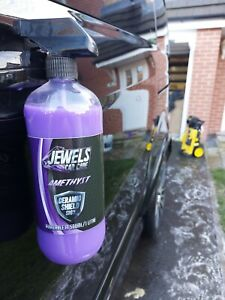 Jewels Amethyst Ceramic Shield Si02 - Ultimate Shine, Armor Protection *500ml*