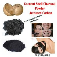 Organic Coconut shell  Activated Charcoal Teeth Whitening Powder free ship