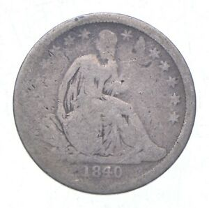 Historic 1840 Seated Liberty Dime *996