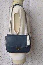 MARC JACOBS Blue Leather Mini Polly Nautical Crossbody Bag NEW!