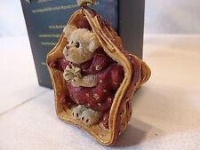 *Longaberger Ltd Edt Boyd's Bears Twinkles Christmas Ornament Star w/Bear