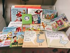 Lot Kids Picture Books Pigeon Seuss Boynton PAW Patrol Eric Carle Richard Scarry