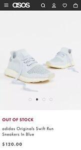 Adidas Original Swift Run Baby Blue - US 5 Reflective - BRAND NEW RRP$120