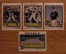 2004 Topps Kansas City Royals Baseball Team Set (27 Cards) ~ Mike Sweeney APPIER
