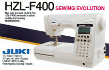 New Juki HZL-F400 Sewing and Quilting Machine