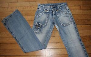 LE TEMPS DES CERISES Jeans pour Femme W 24 - L 34 Taille Fr 34 (Réf #O091)