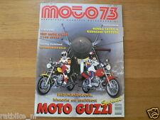 M9408-125 CC SUZUKI V4 1967 POSTER,MOTO GUZI 1100 SPORT,HONDA CB500,KAWA GPZ500S