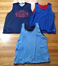 Vintage Lot Of 3 Reversible Athletic Jersey's Men's Size L / XL