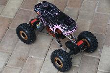 Custom Body Mini Muddy Pink for Redcat Racing Rockslide / Everest 1/10 Crawler