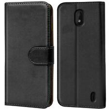 For Nokia 1 Plus Wallet Leather Case Flip Book Cover Pouch with Card Pocket