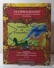World of Greyhawk & Glossography (1983, TSR)