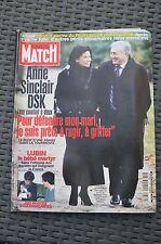 REVUE PARIS MATCH N°2689/2000 SINCLAIR DSK/ LUBIN BB MARTYR/REPORTAGE LA 206