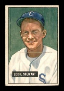 1951 Bowman Set Break # 159 Eddie Stewart VG *OBGcards*