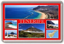 FRIDGE MAGNET - TENERIFE - Large - Canary Islands TOURIST