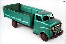 Awesome 1950s Original Vintage Large MARX LUMAR Pressed Steel Dump Truck