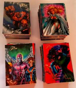 94 Flair Marvel Annual Inaugural Edition Card Set (Almost Complete) (Fleer 1994)