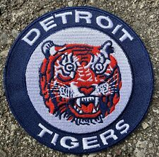 "Vintage Detroit Tigers MLB Baseball Patch 3.5"" X 3.5"" Retro"