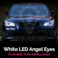 BMW 5 Series Pre LCI E60 E61 White Angel Eye Halo Ring LED Light Bulb Upgrade