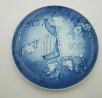 1988 Bing & Grondahl B&G Children's Day Plate WASH DAY  in Box #12047