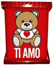 Targa Orsetto Teddy Love Ti Amo Regalo San Valentino PS 04963