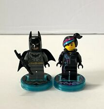 LEGO Dimensions Batman and Wyldstyle with Tags