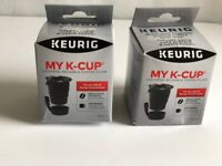2 New Keurig My K-Cup Universal Reusable Coffee Filters Replacement for Keurig