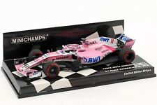MINICHAMPS 417180411 1/43 2018 Force India Vjm11 Perez P3 Azerbaijan GP F1 Model