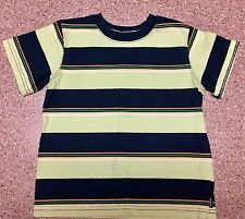 Carters Boys Short Sleeved Shirt ~ Size 4T ~ Green/Navy Stripes EUC!!