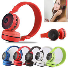 Wireless Handfree Kids Over-Ear Led Headphones Earphones for iPad/Tablet/Phones