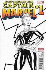 Captain Marvel # 1 2nd Print Variant NM 2012 Series