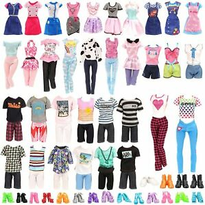 Dolls Clothes, Clothes For Barbie, Clothes For Ken-Bulk Dolls Clothes Barbie Ken