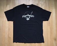 His Hero Is Gone Shirt 90s Vtg Hardcore Punk Band Tee USA XL