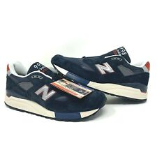 J Crew X New Balance 998 M998JC1 Navy Suede Sneakers MADE IN USA - Men Sz 10.5