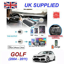 For VW Golf iPhone 5 6 7 8 SE 10 mp3 Aux Digital Audio CD Changer Module 12pin